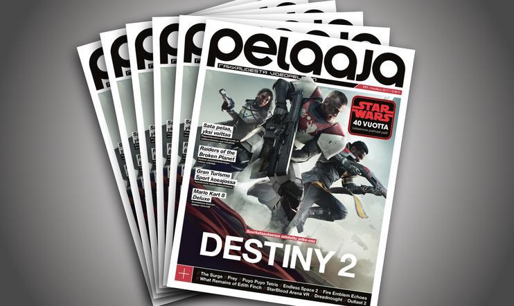 Kesäkuun Pelaaja-lehti 177 nyt kaupoissa! Destiny 2, Star Wars 40 vuotta!