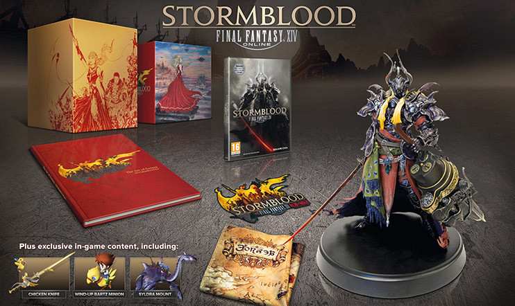 KISA: Palkintona Final Fantasy XIV: Stormblood -keräilyversio!