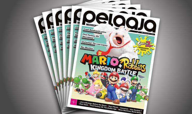 Elokuun Pelaaja-lehti 179 nyt kaupoissa!