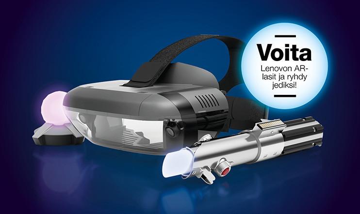 Lenovon Star Wars: Jedi Challenges -kilpailu – VOITA Lenovon AR-lasit ja ryhdy jediksi!