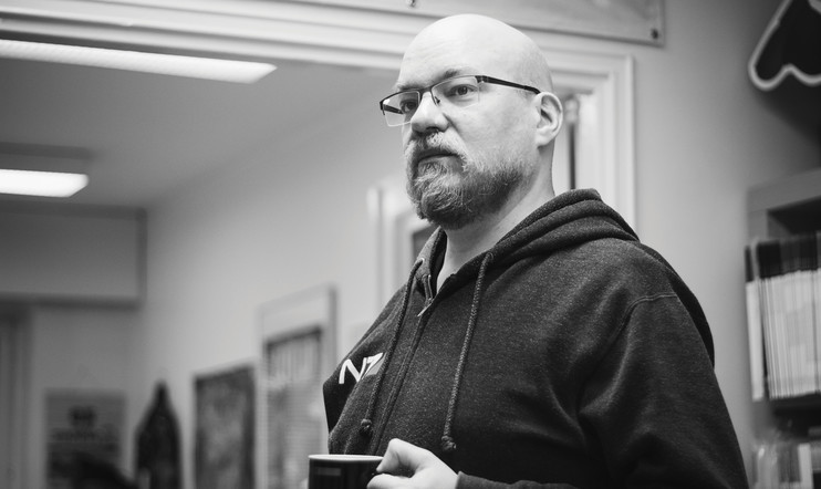 Pelaaja-lehden päätoimittaja Miika Huttunen