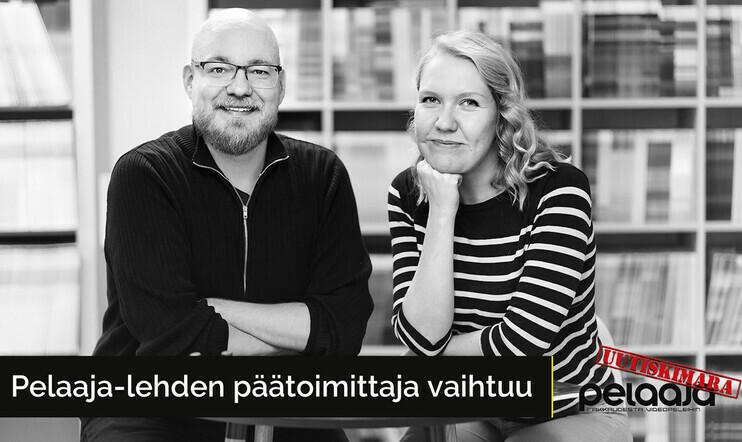 Miika Huttunen, Johanna Puustinen, Pelaaja-lehti päätoimittaja, Uutiskimara, The Witcher Netflix, Death Stranding pc