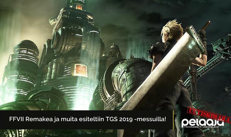 FFVII Remake, Nioh 2, Project Resistance ja muut Tokyo Game Show 2019 -herkut | Uutiskimara #5