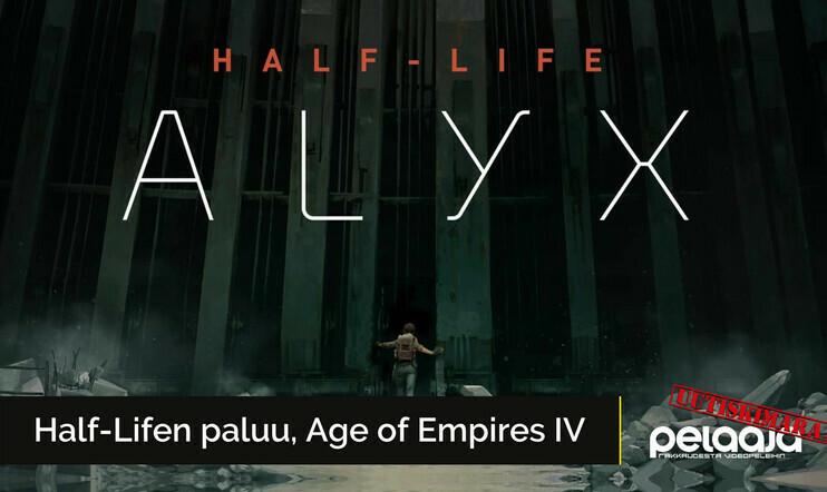 Valve vahvisti Half-Life: Alyxin, elokuva-Sonic sai uudistetun ilmeen ja GameXpo-messut tulivat tiensä päähän | Uutiskimara #13