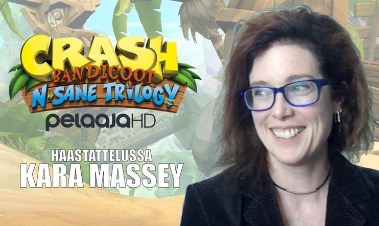 Crash Bandicoot: N. Sane Trilogy -videohaastattelussa Kara Massey!