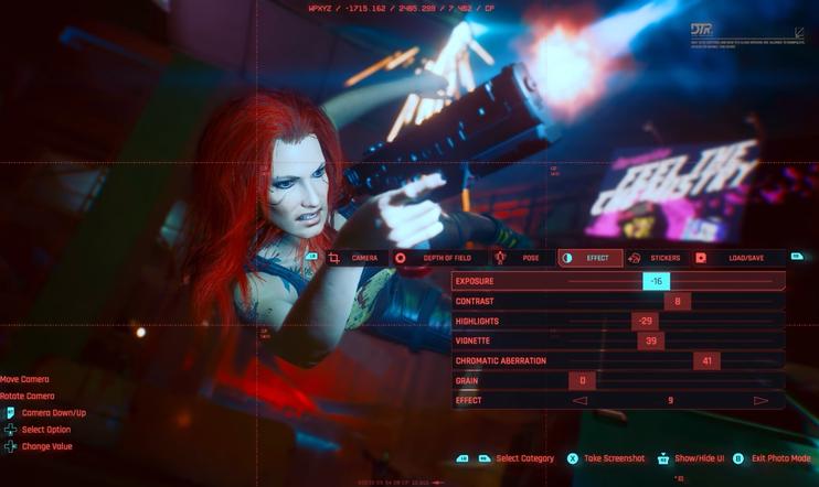 Cyberpunk 2077, Cyberpunk, Kuvaustila, Photo Mode, CD Projekt, CD Projekt RED