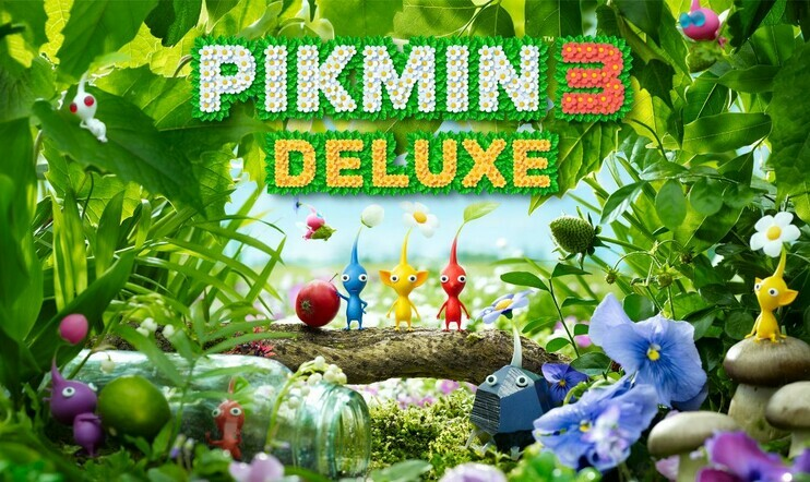Pikmin 3, Pikmin 3 Deluxe, nintendo, Switch, Wii U