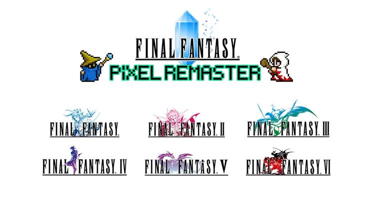 Final Fantasy, Pixel Remaster, Square Enix, Final Fantasy VI, Final Fantasy 6, FFVI, JRPG, Square, Squaresoft,