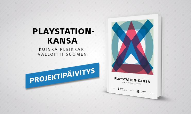 Pelaajan PlayStation-kirjaprojekti etenee – joko ennakkotilasit omasi?