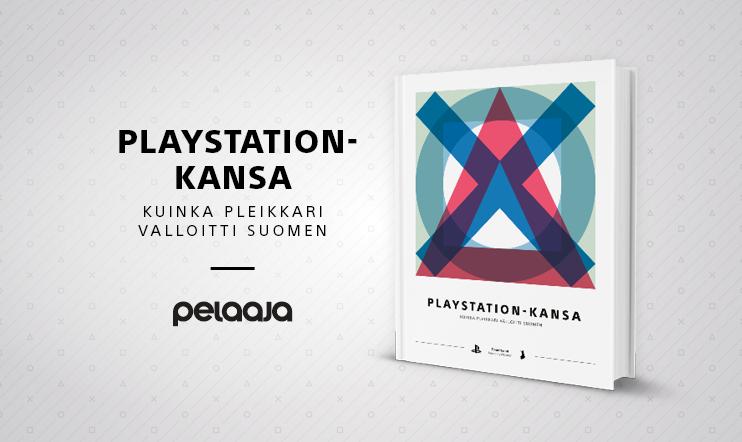 Viikkokisa: Voita Pelaajan uutuskirja PlayStation-kansa!