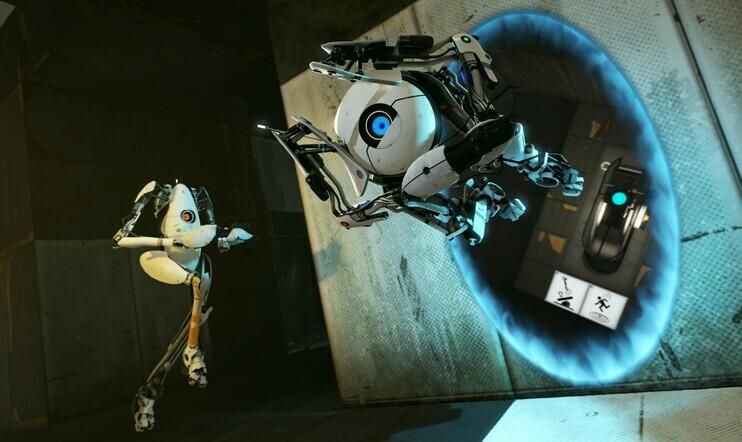 Tiesitkö? Portal 2:ssa ei aluksi pitänyt olla portaaleja