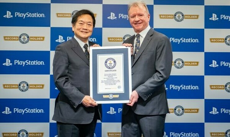 PlayStation, Guiness World Records, Sony, Guinnesin ennätystenkirja
