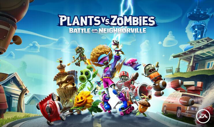 Plants vs. Zombies: Battle for Neighborville, Plants Vs. Zombies, Battle for Neighborville, EA, PopCap, Garden Warfare, julkaisupäivä, 18. lokakuuta