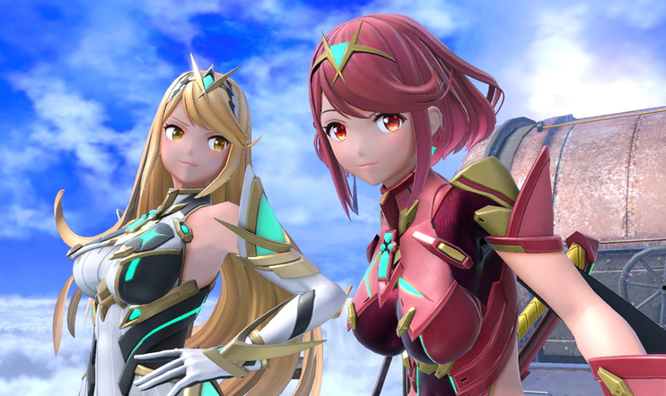 Pyra, Mythra, Super Smash Bros., Super Smash Bros. Ultimate, nintendo, Switch