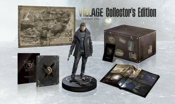Kesäkuun kisa: Voita Resident Evil Village -pelin komea keräilyversio