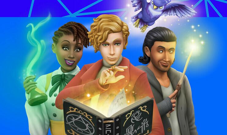 Potteriksi Potterin paikalle – testissä taianomainen The Sims 4: Noituuksia