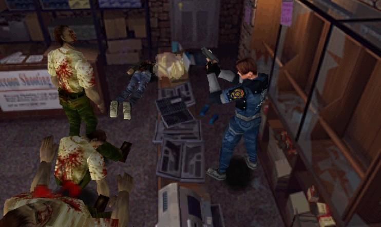 Retrostelussa Resident Evil 2