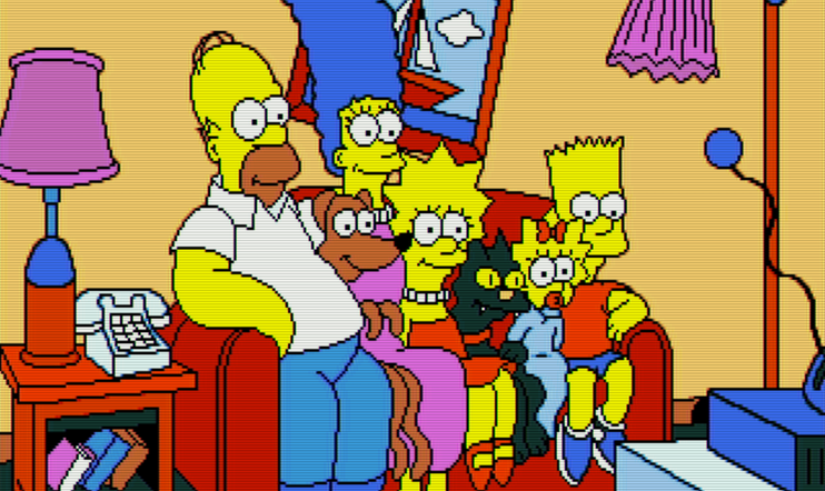 Retrostelussa The Simpsons: Bart vs. the Space Mutants