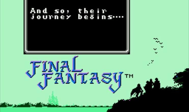 Retrostelussa Final Fantasy 1