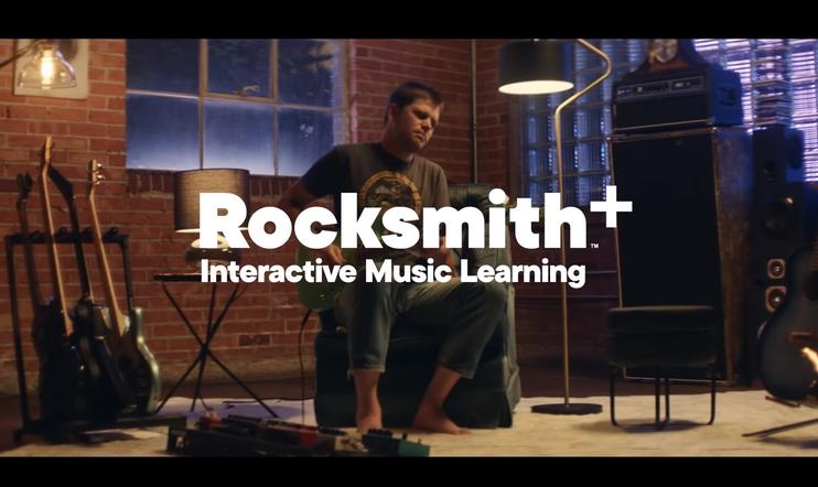 Rocksmith+, ubisoft, tilauspalvelu, kitarakoulu, opetuspeli
