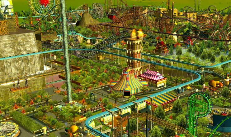 RollerCoaster Tycoon 3, Epic Games Store
