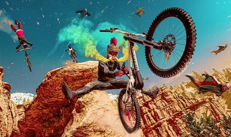 Ubisoft, lykkäys, Rider Republic, Steep, urheilu,