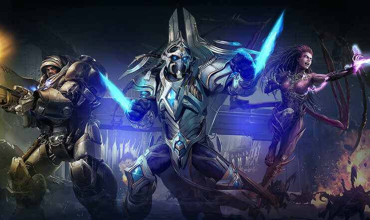 Starcraft II, Blizzard