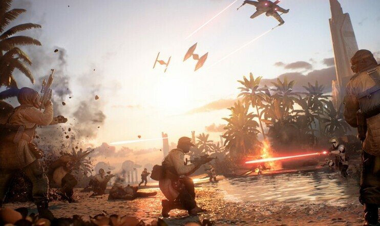battlefield, star wars, star wars battlefront, Star Wars Battlefront 2, ea, dice, Electronic Arts