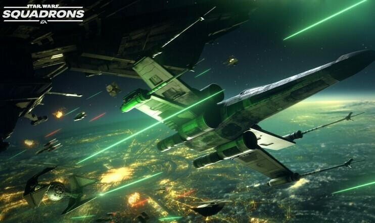 Star Wars: Squadrons -pelikuvaa