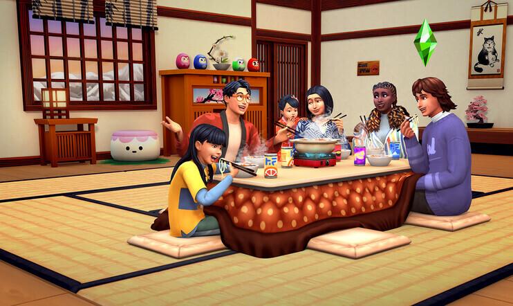 Syömäpuikkoja ja puuterilunta – ennakossa The Sims 4: Lumisten vuorten maa