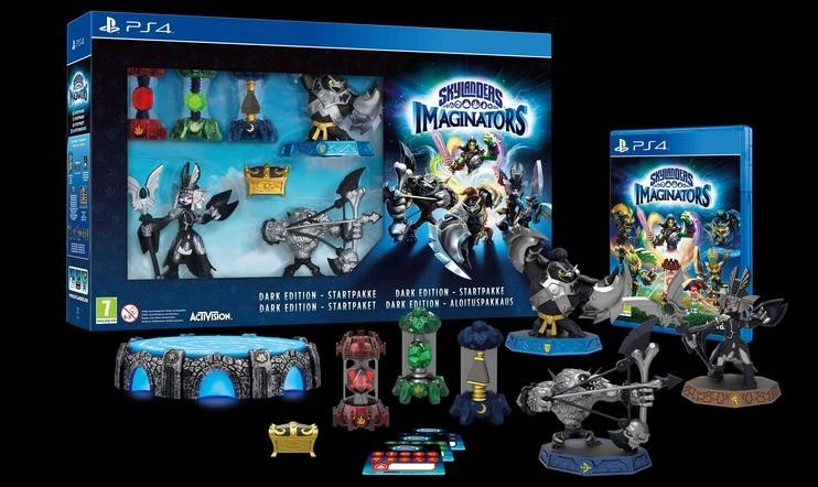 VOITA Skylanders Imaginators Dark Edition!