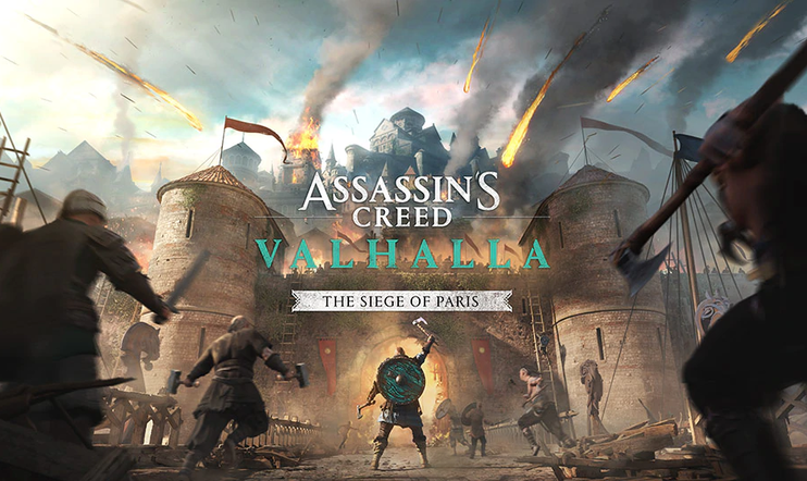 assassin's creed, Assassin's Creed Valhalla, Dicovery Tour, Wrath of the Druids, Siege of Paris, viikinki, DLC, Ubisoft,