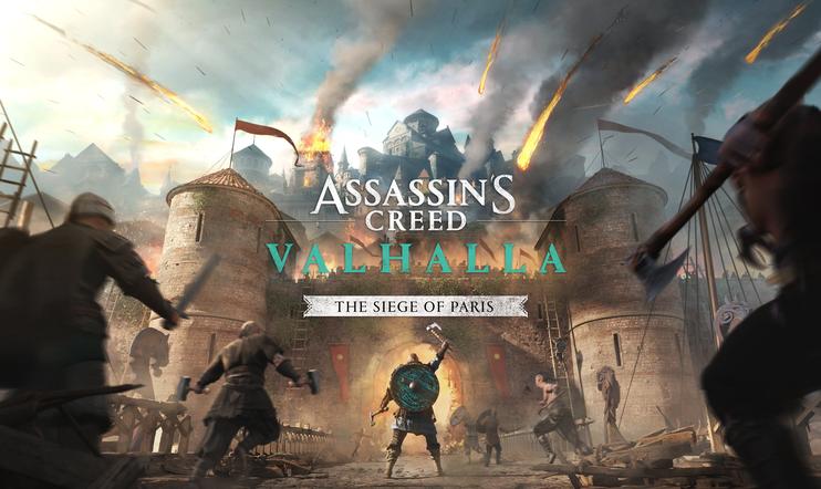Assassin's Creed Valhalla, Assassin's Creed, Siege of paris, Sigrblot Festival, Frankkien valtakunta