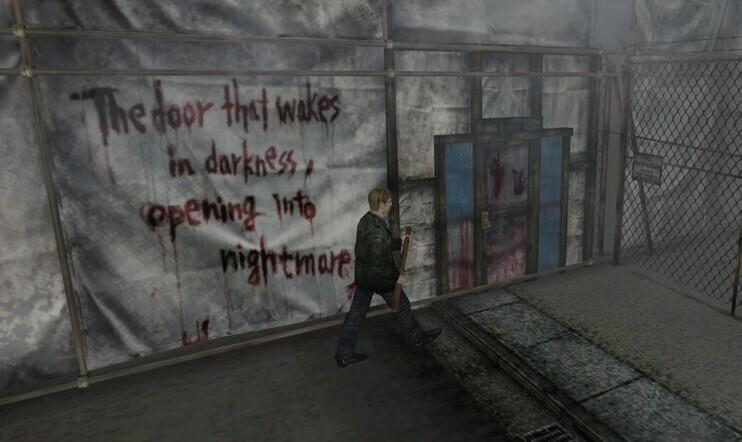 Retrostelussa Silent Hill 2