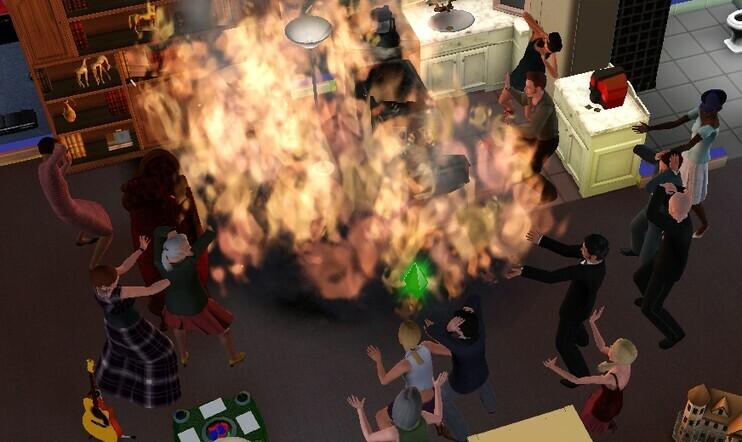 Tiesitkö? The Sims alkoi tulipalosta