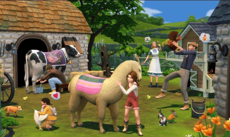 The Sims 4, Maalaiselämää,  The Sims, Cottage Living, julkaisupäivä, EA, Maxis