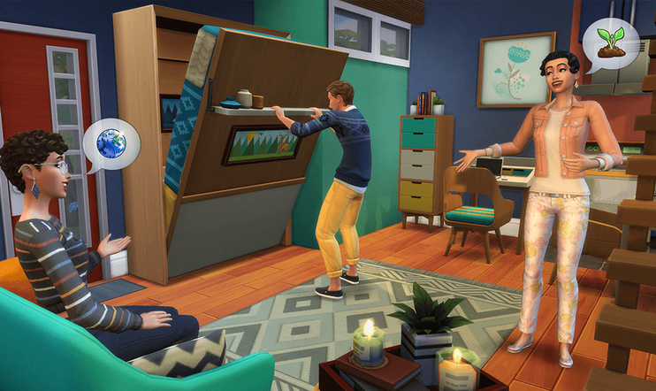 Tiny Living, The Sims, The Sims 4, ea, Maxis, Stuff Pack