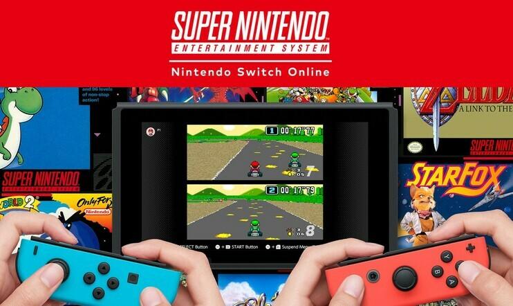 SNES, Super Nintendo, Nintendo Switch Online, verkkopalvelu