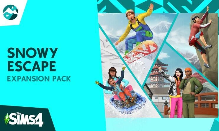 """Seuraava The Sims 4 -laajennus paljastui japanilaisteeman kera – tällainen on """"Lumisten vuorten maa"""""""
