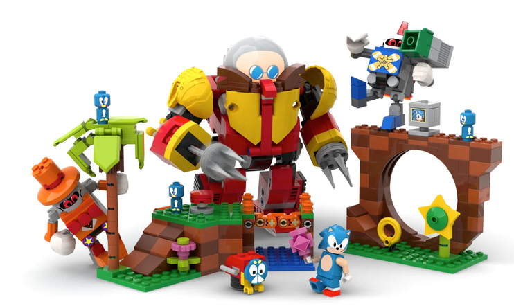 Lego, Sonic Mania, Sonic the Hedgehog, Sega, Viv Grannell, Lego Ideas,