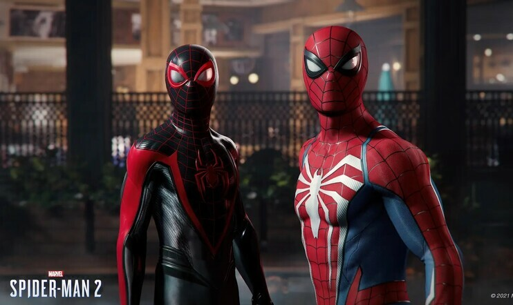 Marvel's Spider-Man 2 paljastettiin PlayStation 5:lle – varjoissa vaanii Venom