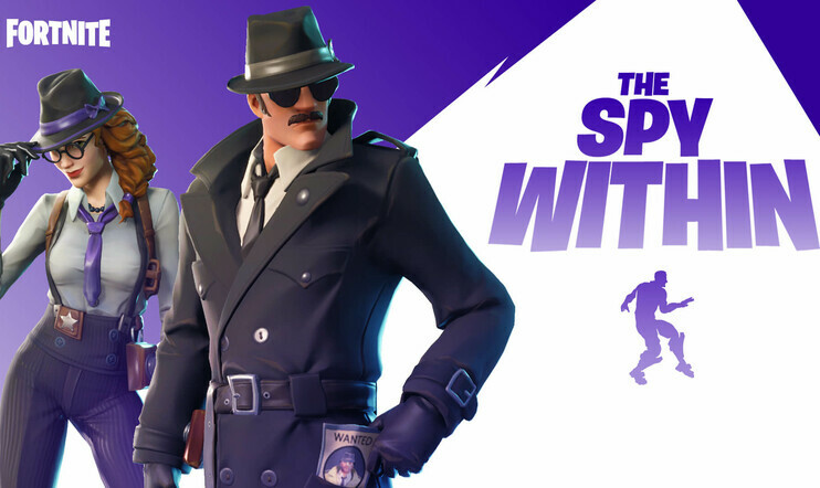 Fortnite, The Spy Within, Among Us, Epic
