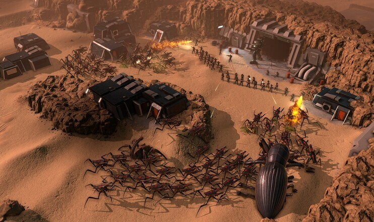 Starship Troopers, Terran Command, Slitherine, The Artistocrats, Strategia