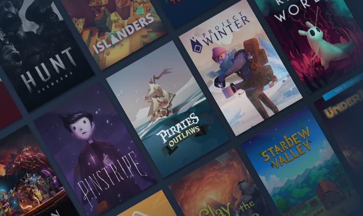 Steam, pelikirjasto, library beta, ulkoasu, käyttöliittymä, Valve, Kirjasto