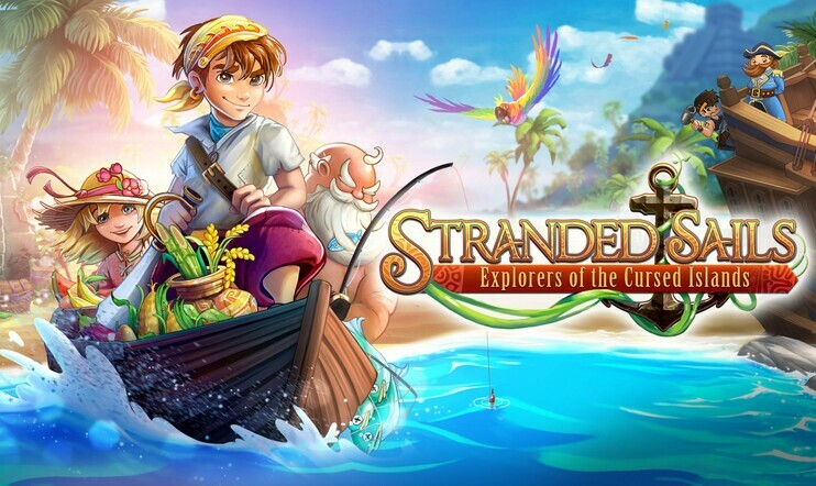 Stranded Sails: Explorers of the Cursed Islands, julkaisupäivä, 17. lokakuuta, maanviljely, stardew valley