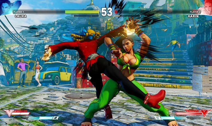 Street Fighter V -arvostelu