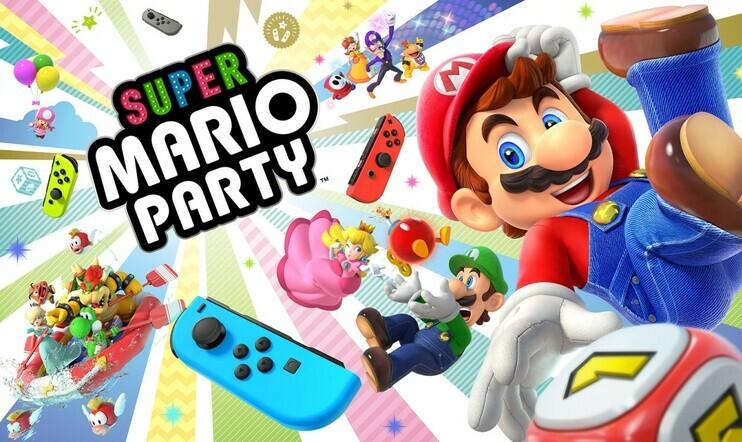Super Mario Party, Mario Party, Nintendo, nettipeli, verkkopeli, Switch, bilepeli,