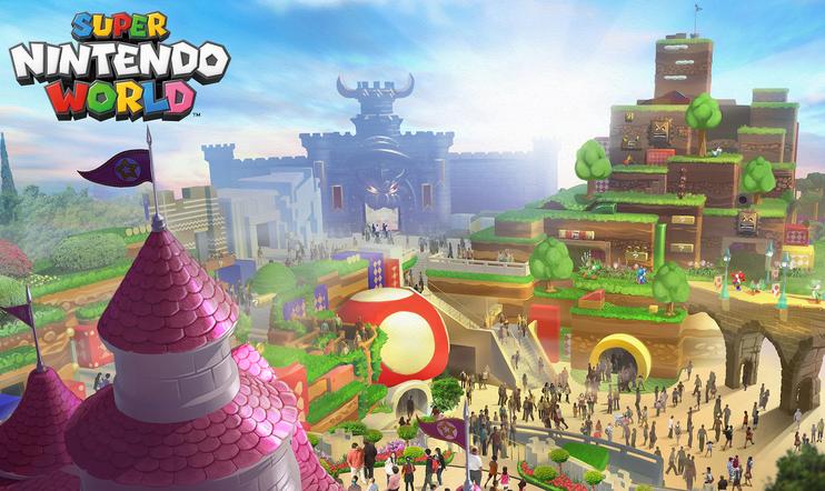 Super Nintendo World, Shigeru Miyamoto, nintendo, Super Mario, Mario, huvipuisto, Universal