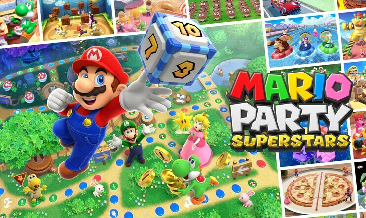 Mario Party Superstars, mario party, bile, bilepeli, Nintendo,
