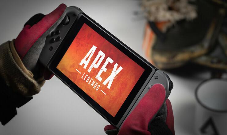 Apex Legends, Switch, battle royale, panic Button, Respawn Entertainment, EA, fps,